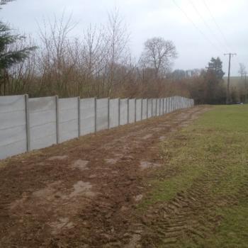 Réalisation pose de clôture